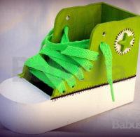 Zapatilla Verde