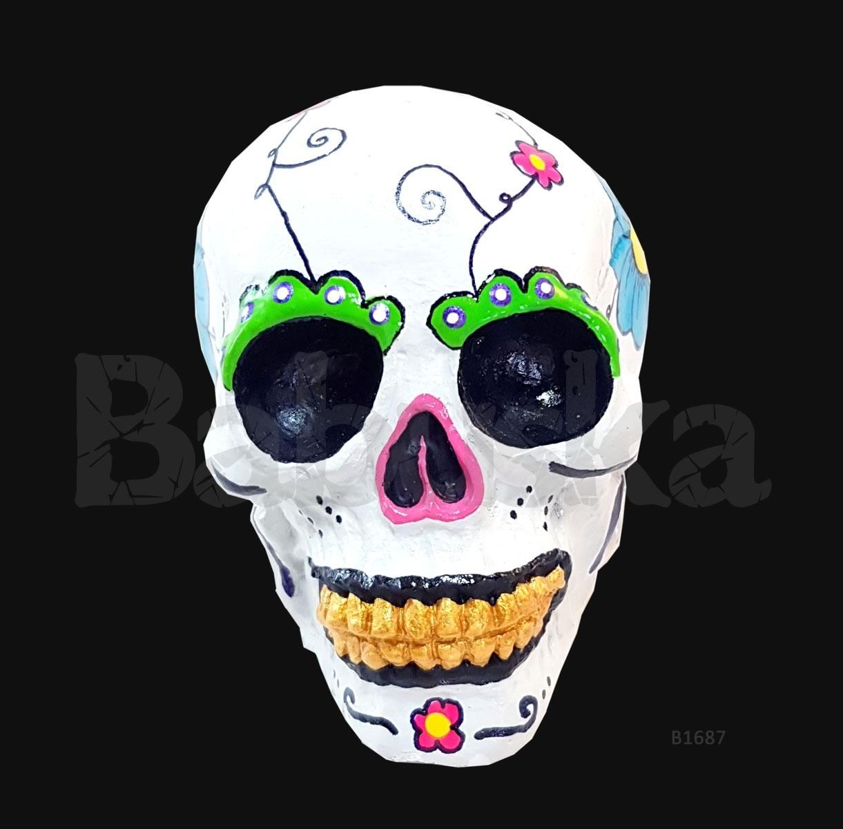 Calavera mexicana - Calavera Hermes