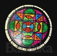 Mandala en madera