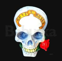 Calavera Guns and Roses