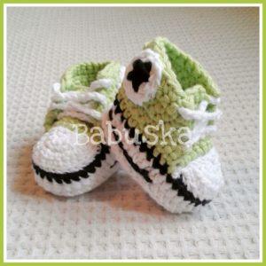 Zapatitas crochet - Babuska