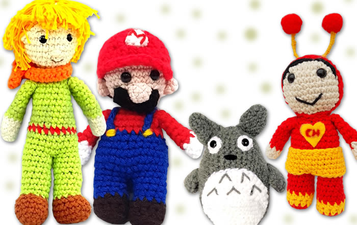 Personajes crochet