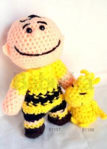 Charlie Brown Amigurumis (B1107) Babuska