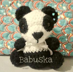 Panda - Amigurumi Babuska