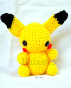 Pikachu - Amigurumis Babuska