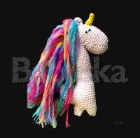 Real - Unicornio Amigurumi Babuska