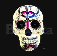 Amor y paz Calavera skull Babuska B973