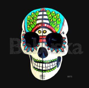 Eluney Calavera colgante skull Babuska B975