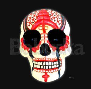Endiablada Calavera calaca skull Babuska B971