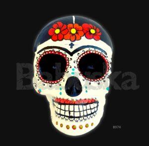 La Frida Calavera mexicana Babuska B974