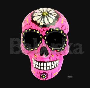 Oaxaca Calavera colgante Babuska B1155