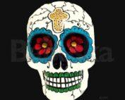 Buey Calavera colgante Babuska B1554