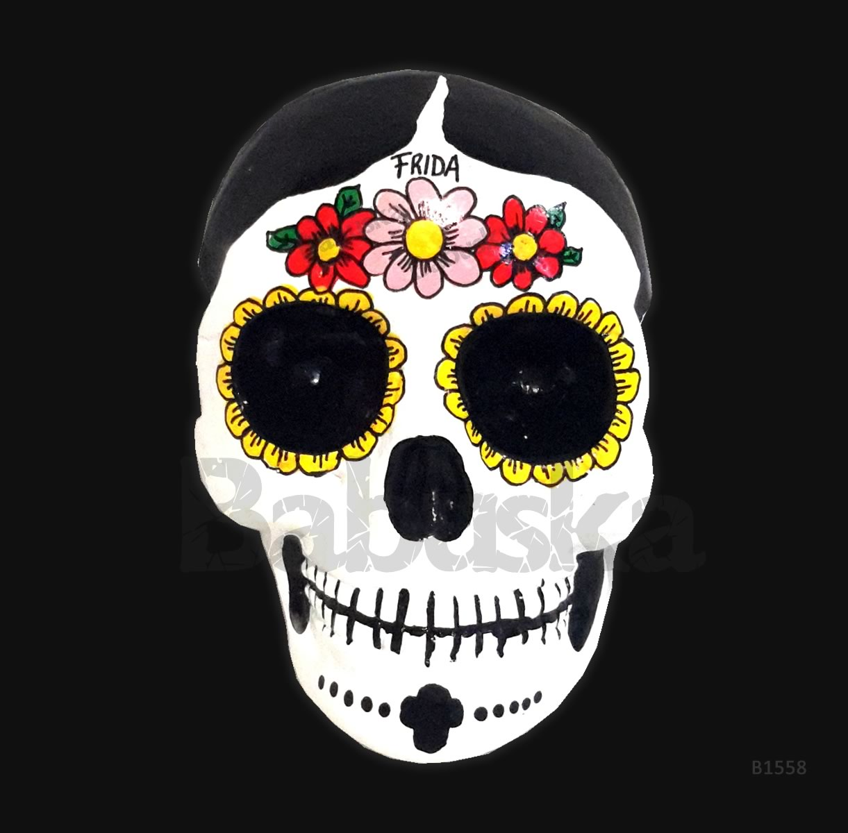 Frida Calavera mexicana - Babuska B1558